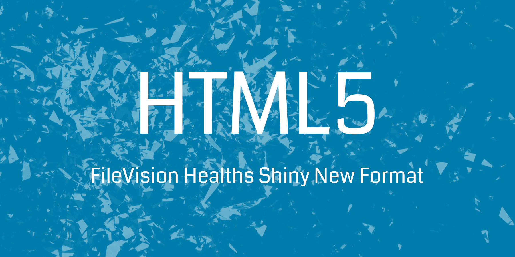 HTML5 – FileVision Health now on the web!